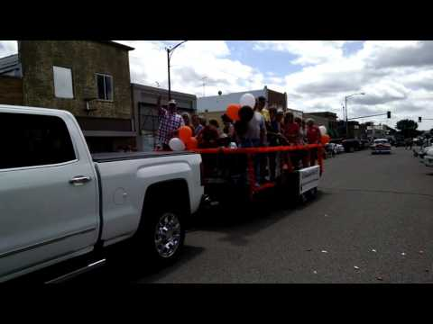 Plentywood High School Class of 76 Float