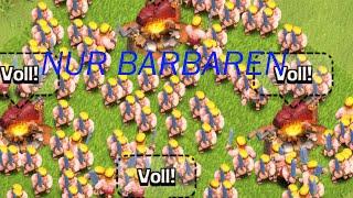 NUR MIT BARBAREN ANGREIFEN - Let's Play Clash of Clans #017 [Deutsch]