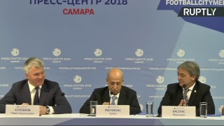 Пресс-конференция российского и уругвайского министров спорта — LIVE