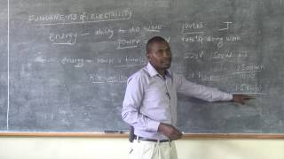 Electrical Installation Lesson3 Fundamentals of Electricity How to measure electrical Power