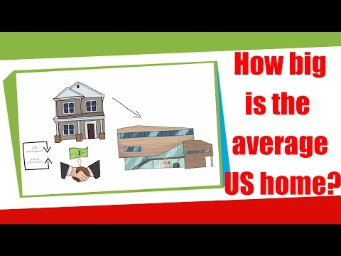 How Big Is The Average US Home Average American Houses