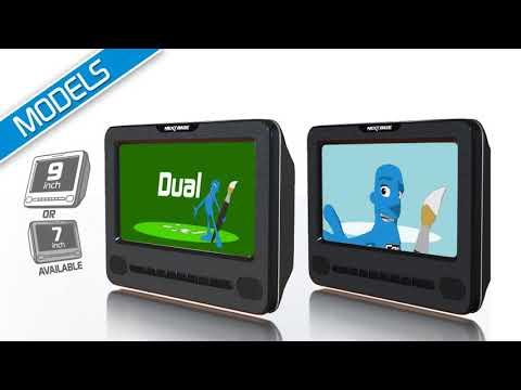 2 lecteurs pour voiture dvd nextbase nb9d car sd 2 casques disponibles sur youtube. Black Bedroom Furniture Sets. Home Design Ideas