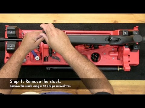 How to adjust the power on your AT44 Class Airgun