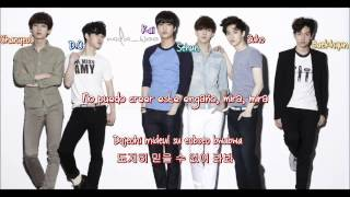 EXO-K - Machine [ Sub Español /Romanizacion/Hangul] (Color Coded)