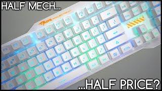 Cheap Mechanical-Feeling Keyboard!