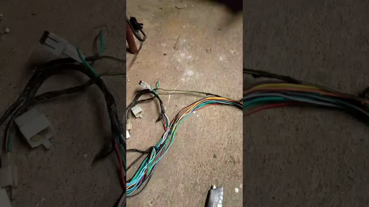 medium resolution of baja phoenix wiring harness tear down strip bobber brat minimalbaja phoenix wiring harness tear down strip