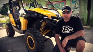 2013 Can-Am Maverick X rs Test Ride