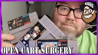 Open Cart Surgery - 3 SNES Games in ONE VIDEO