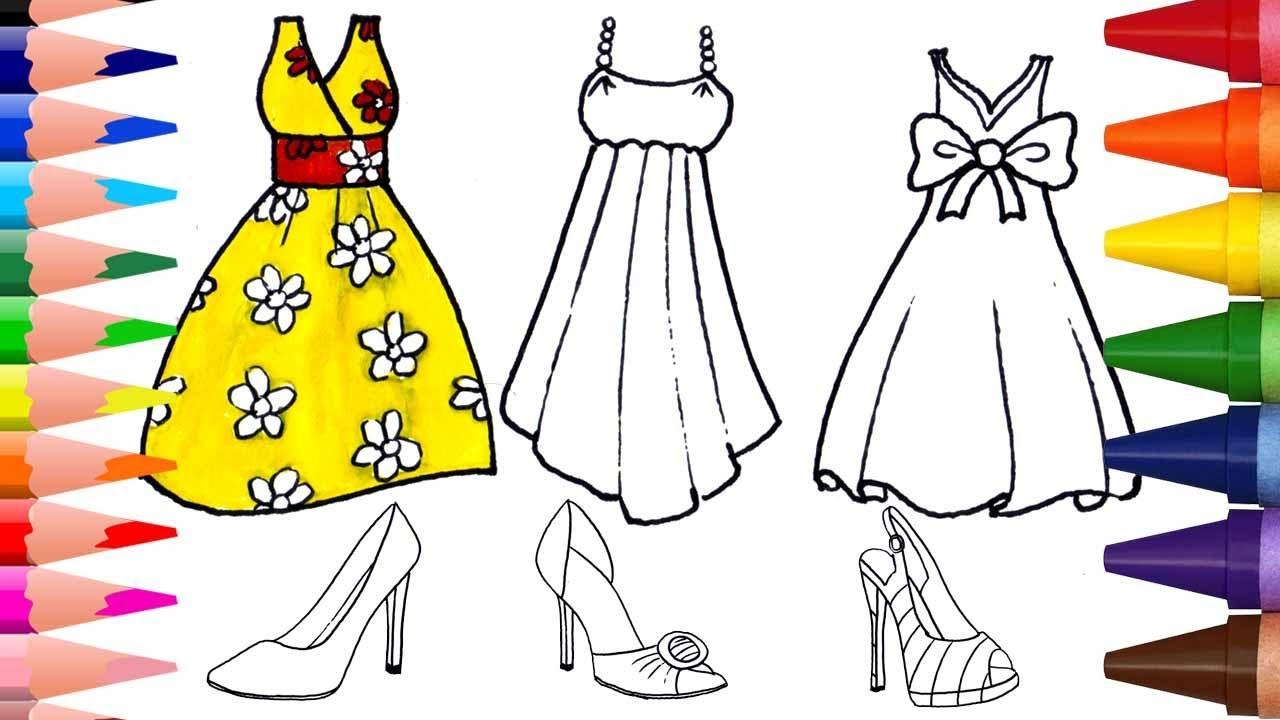 ملابس بالتفصيل الحجم النسبي فستان دميه كرتون تلوين Loudounhorseassociation Org
