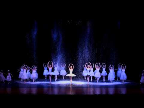 5) San Benito Dance Academy Nutcracker 2013 - Snow Scene & Angels on the Mountain of Sweets