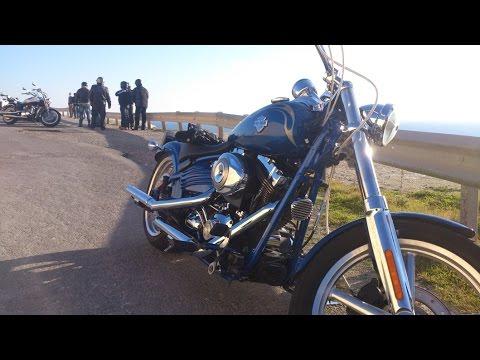 Harley Davidson Motorcycle, ride to Limassol Marina, Cyprus, part one.