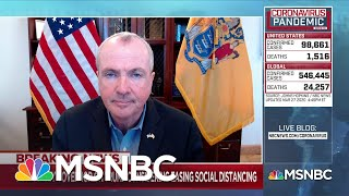 Gov. Murphy: 'New Jersey is as tough as nails' | Deadline | MSNBC