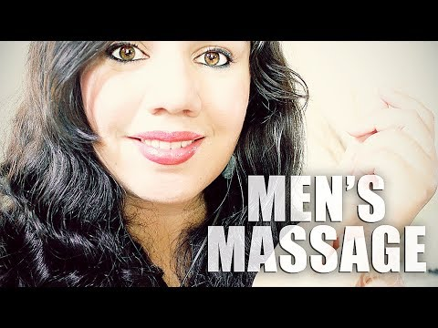 ASMR MEN'S RELAXING MASSAGE ROLE PLAY