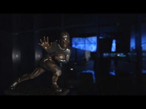 Heisman Trophy Display