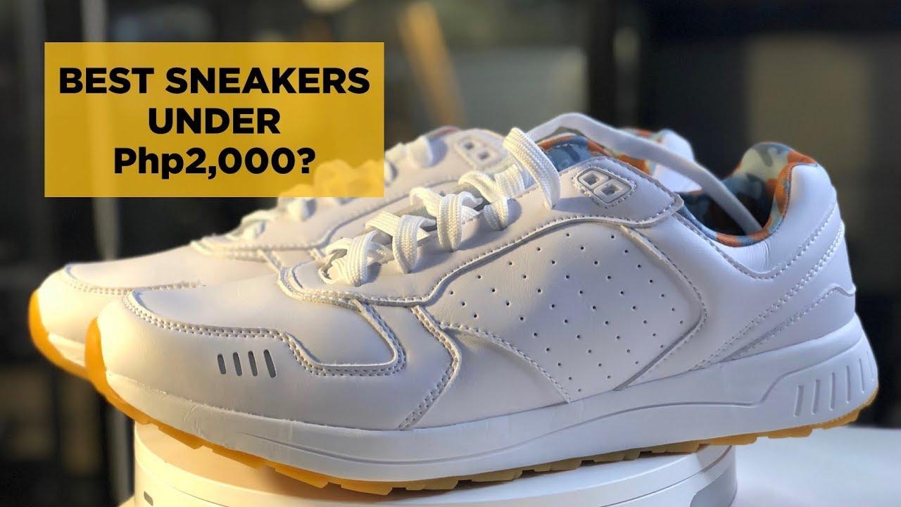 Best White Sneakers Under 1,800 Pesos