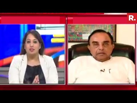 Subramanian Swamy Speaks To Republic TV On Sunanda Pushkar's Case | Exclusive