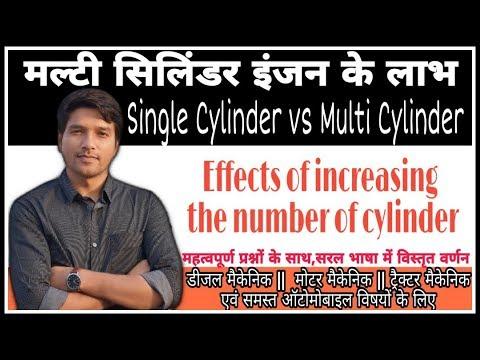 ADVANTAGES OF MULTI CYLINDER ENGINE    Study ITI Skills   