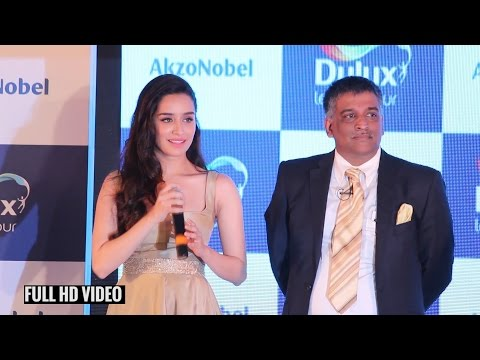 Shraddha Kapoor Full Speech | AkzoNobel`s Monarch Gold as Colour of the Year