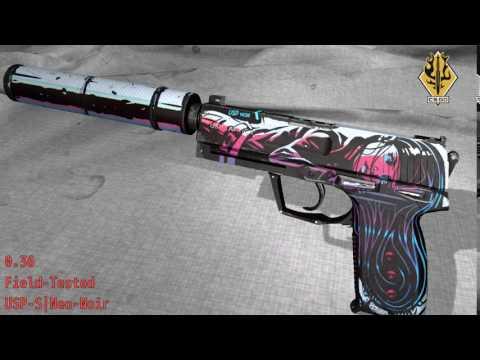 USP - S Neo-Noir - Skin Wear Preview