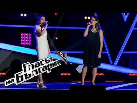 Хриси и Дари – Народни песни / The Climb  – Гласът на България 5 – Кастинги на тъмно  (18.03.2018)