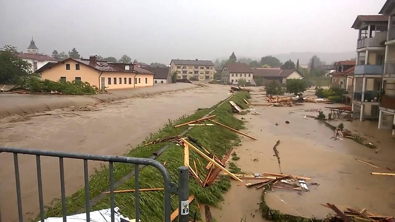 Rottal Inn Hochwasser