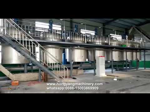 Animal fat oil extraction plant