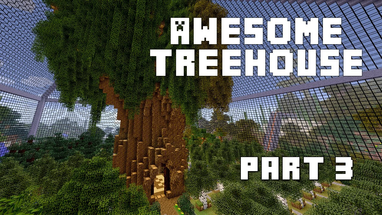 Minecraft How To Make An Awesome Treehouse The Mother