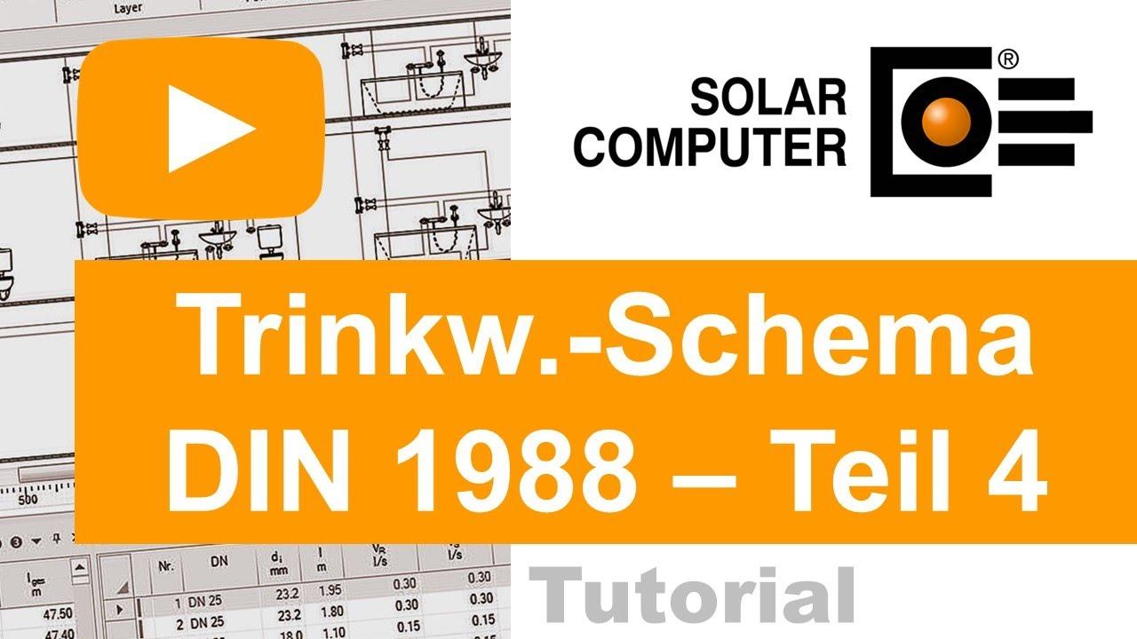Top Trinkwasser DIN 1988-300 inkl. Schema-Editor TEIL 4 (anpassen JR01