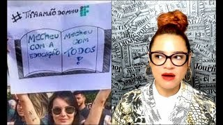 """Baixar Manifestação """"pela educação"""" FRACASSOU"""