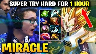 MIRACLE SUPER TRY HARD with INVOKER FOR 1 HOUR GAME