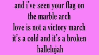 Kate voegele Hallelujah Lyrics