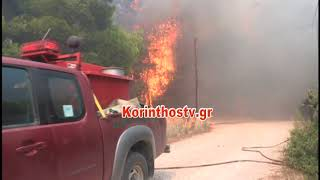 Κόλαση φωτιάς στην Κινέτα: 2018