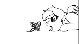 Rainbow and Fluttershy Vore Animation