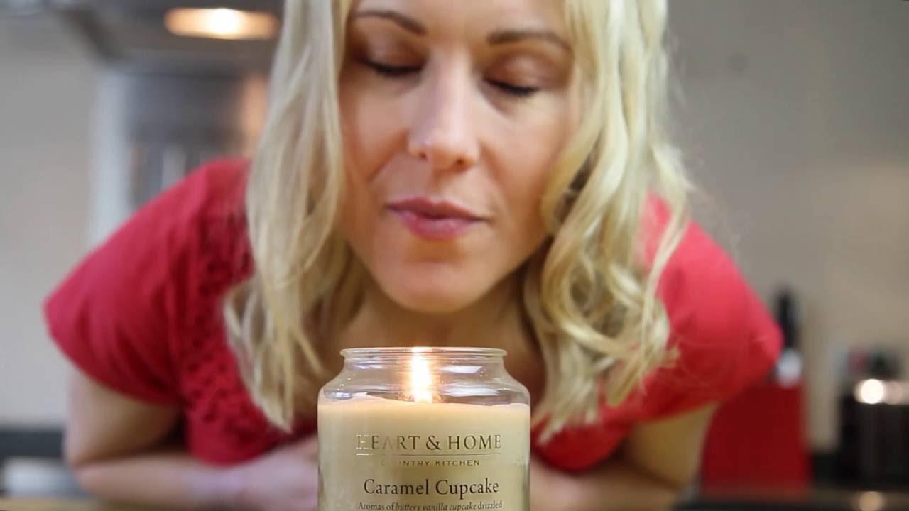 Cura delle candele naturali Heart & Home