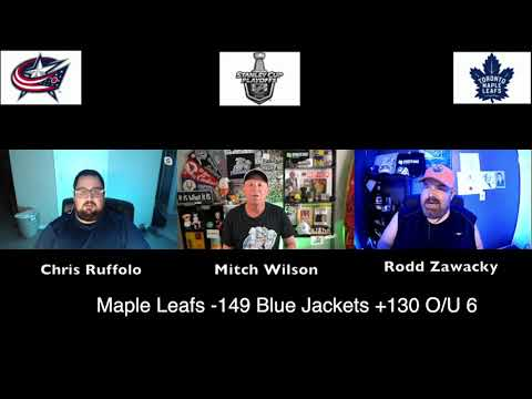 Toronto Maple Leafs vs Columbus Blue Jackets 8/2/20 NHL Pick and Prediction Stanley Cup Playoffs