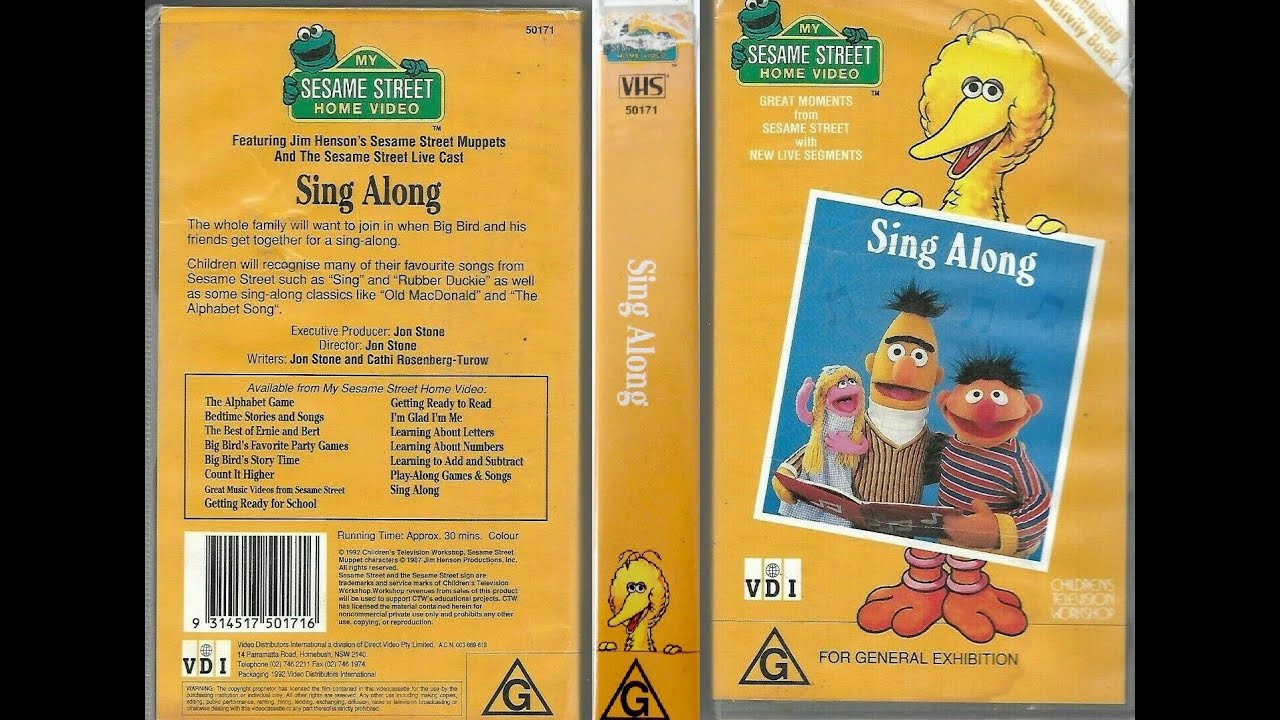 Download My Sesame Street Home Video Sing Along!