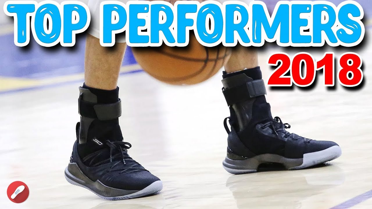 ec1aaa2f71f5 Top 10 Performing Basketball Shoes of 2018! So Far! - YouTube
