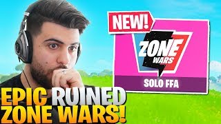 How Epic RUINED The NEW Zone Wars.. Here's Whats WRONG... (Fortnite Battle Royale)