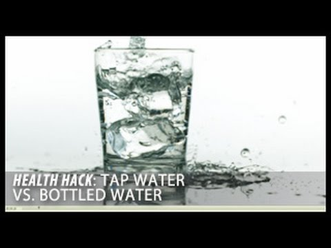 Tap Water Vs. Bottled Water: Health Hacks- Thomas DeLauer
