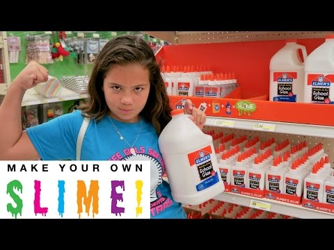 "SHOPPING AT TARGET "" SLIME "" INGREDIENTS "" ALISSON"""