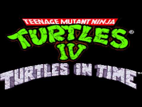 TMNT 4 -Turtles In Time Music: Skull & Crossbones Extended HD