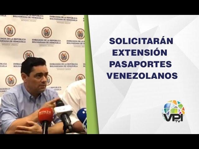 Miami - Solicitarán extensión de vigencia de pasaportes Venezolanos en otros países - VPItv