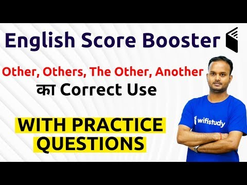 Download 10:30 AM - English Booster by Sanjeev Sir   Difference Between Other, Others, The Other, Another