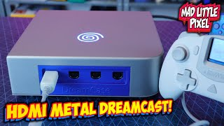 A Metal HDMI Sega Dreamcast With All Games Built In! DreamCase Install & Review!