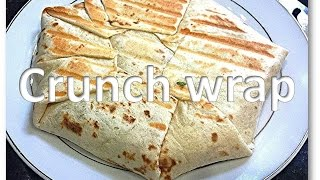 Homemade Crunchwrap (taco Bell Style) Mexican Recipe By Rinkusrasoi
