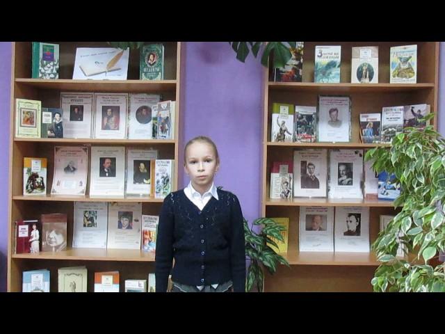 Изображение предпросмотра прочтения – ОльгаОпара читает отрывок изпроизведения «Бородино» М.Ю.Лермонтова