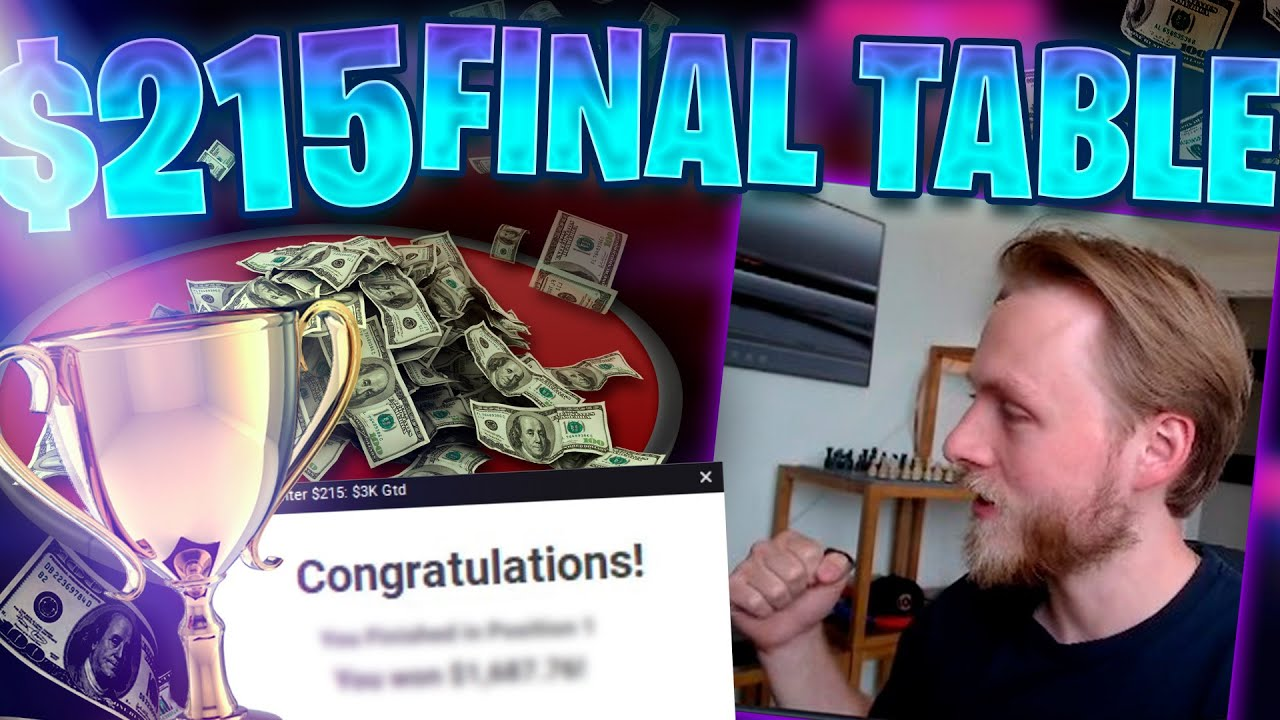 Download ANOTHER $215 FINAL TABLE!! CAN I TAKE IT DOWN?!?! Matt Staples Stream Highlights