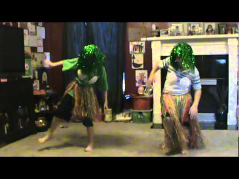 Dancing to the Dr. Coconut song