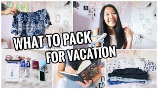 What To Pack For Vacation! Tips, Essentials + Hacks! ✈️☀️