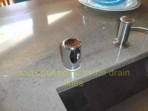 Dishwasher Countertop Gap : dishwasher air-gap Hi Loop.wmv - YouTube